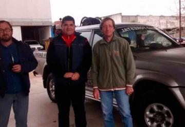 Bomberos de San Jaime recibieron una camioneta de parte de Chajarí