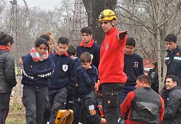 Encuentro regional de cadetes bomberos voluntarios