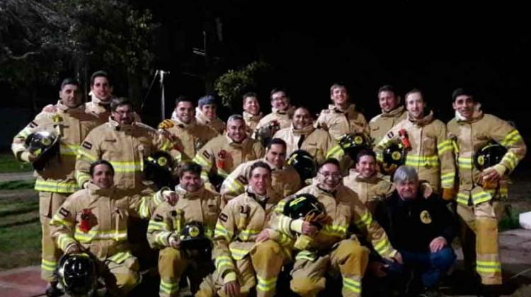 Nuevos equipos de Bomberos Voluntarios de Monte Maíz