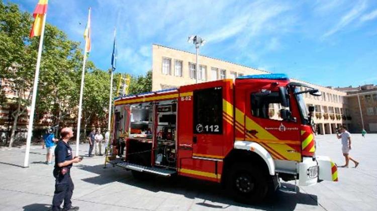 Parque de bomberos ha incorporado un nuevo camión