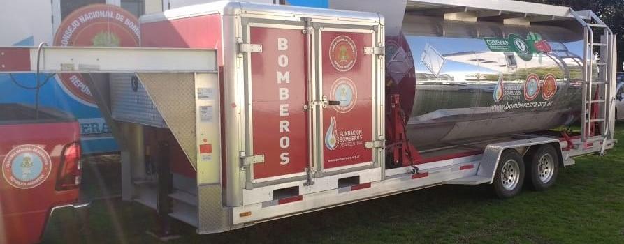 Nuevo simulador para los Bomberos Voluntarios de Argentina