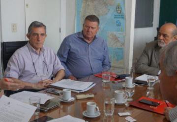 Continúan las reuniones de trabajo junto a Protección Civil