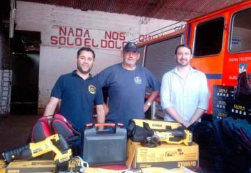 Nuevas herramientas para los Bomberos Voluntarios de Iguazú