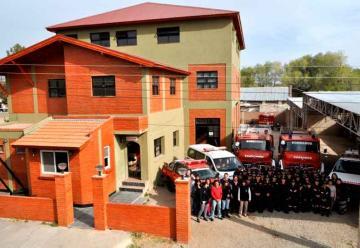 Bomberos de la Villa de Merlo cumplen 40 años