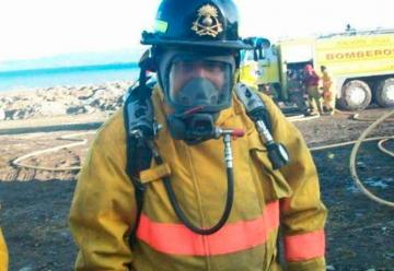 Dolor por la prematura muerte del bombero Francisco Medina