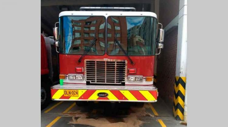 Carros 'nuevos' de bomberos no duraron ni dos meses