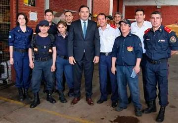 Bomberos Voluntarios de Paso de los Libres recibió Subsidio