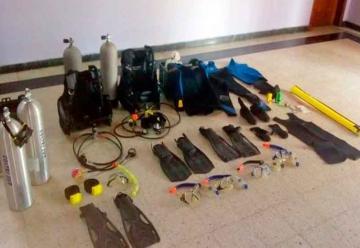 Bomberos Voluntarios adquirió equipamiento de buceo