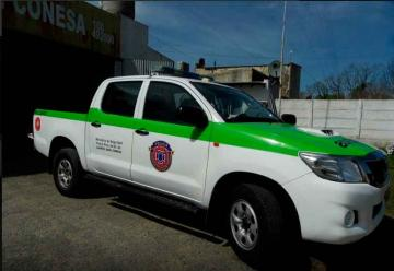 Nuevo equipamiento para los bomberos de Tordillo