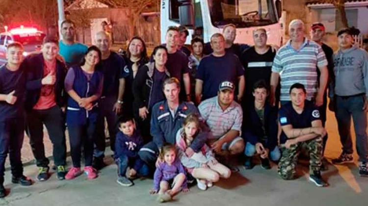 Bomberos Voluntarios de San Justo tienen nueva unidad