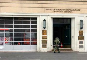 Cuartel de Bomberos debió ser desalojado por aviso de bomba
