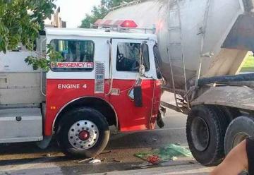 Accidente deja un Bombero Voluntario fallecido y tres heridos