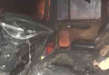 Incendiaron un camión de los Bomberos de Rada Tilly