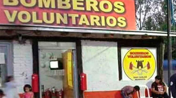 Bomberos Voluntarios de San Carlos vuelven a estar operativos