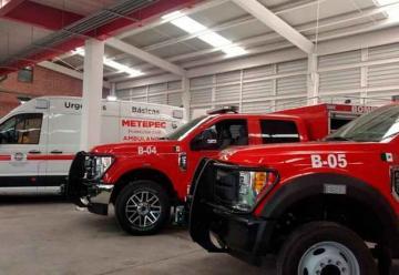 Inauguran nueva estación de Bomberos en Metepec