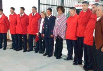 Inauguraciones en Bomberos Voluntarios de Luis Beltrán