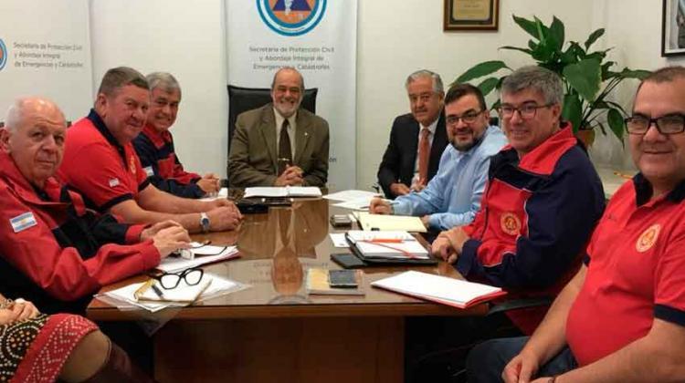 Tercera reunión entre Bomberos y el Ministerio de Seguridad