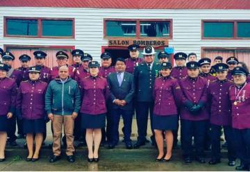 Cuarta Compañía de Bomberos de Putú celebra 23º aniversario