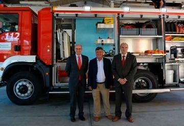 Nuevo camión de bomberos para Béjar
