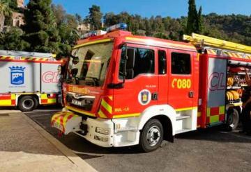 Dos vehículos se incorporan a la flota de los bomberos