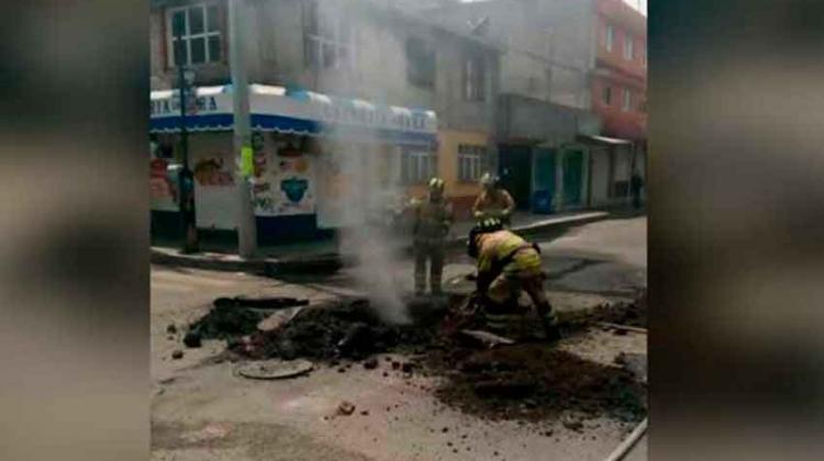 Fallece bombero que auxilió en desalojo de primaria