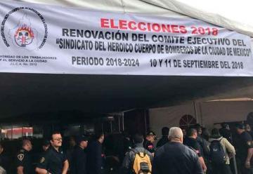 En la elección no hubo planillas opositoras en Bomberos
