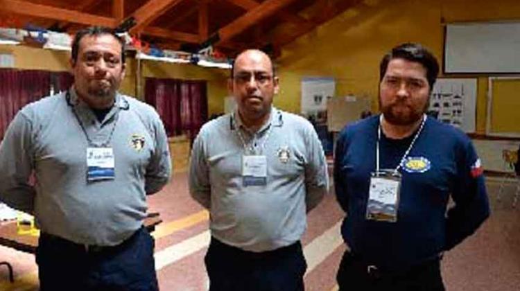 Bomberos de Los Ríos se capacitaron en Comando de Incidentes