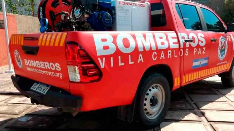 Bomberos Voluntarios de Carlos Paz celebra un nuevo aniversario