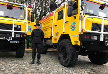 Autobombas para el Sistema Federal de Manejo del Fuego