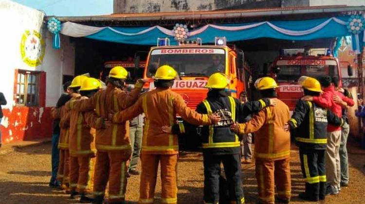 Bomberos Voluntarios suspendieron capacitacionespor falta de fondos