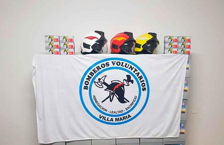 Bomberos Voluntarios adquirieron nuevos cascos