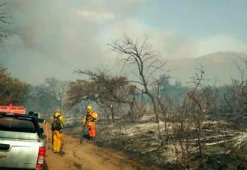 Bomberos lograron controlar el incendio en San Javier