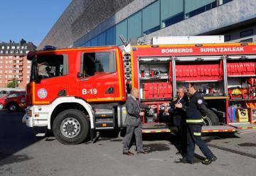 Los bomberos de Bilbao renuevan su flota de vehiculos