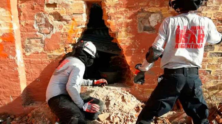 Formación en la búsqueda y rescate en estructuras colapsadas