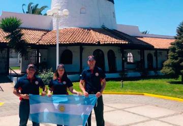 Tres bomberos voluntarios de Argentina recibieron la Beca JICA