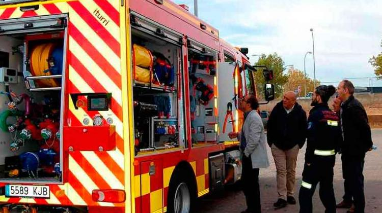 Nuevo camión para los Bomberos en El Moncayo