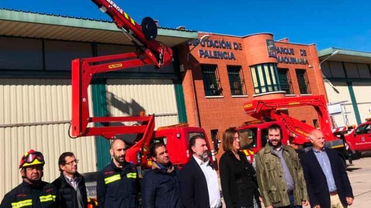 Dos nuevos unidades de rescate en altura para bomberos
