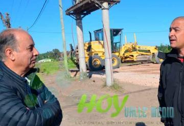 Bomberos ya trabaja en el nuevo predio en cercanías de la ruta