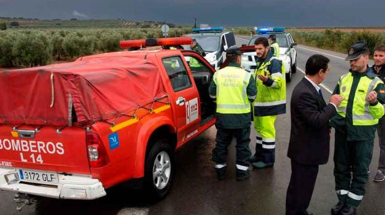 Hallado muerto el bombero desaparecido en Málaga