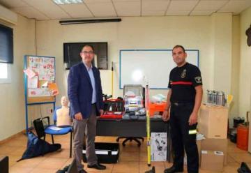 Nuevo material de seguridad para Bomberos en Benalmádena
