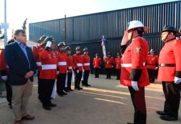 Bomberos Colina-Lampa celebró su 57º aniversario