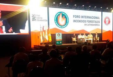 Comenzó el Foro Internacional de Internacional de Incendios Forestales