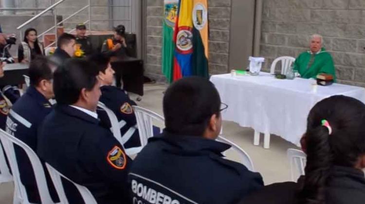 Inauguran sede de bomberos en San Pedro de los Milagros