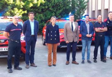 Tres nuevos vehículos para los Bomberos de La Rioja