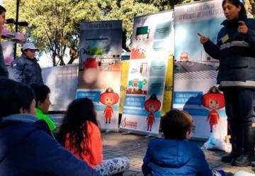 Bomberos voluntarios capacitarán a 50.000 chicos en prevención