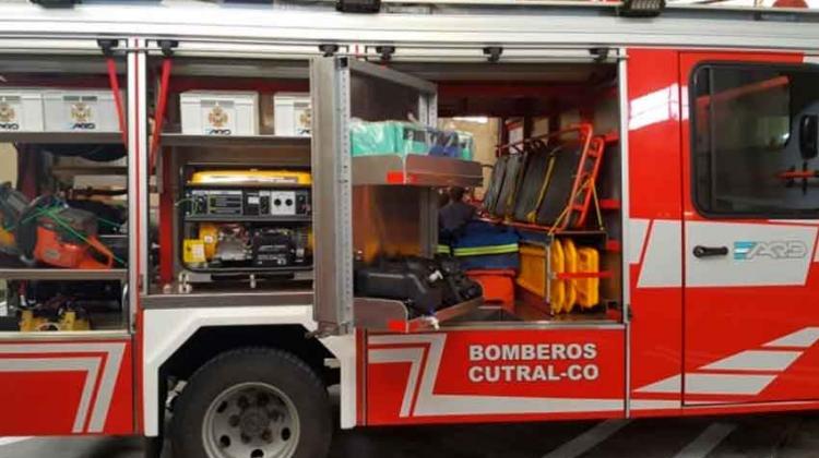 Nuevo Autobomba para Bomberos de Cutral Co