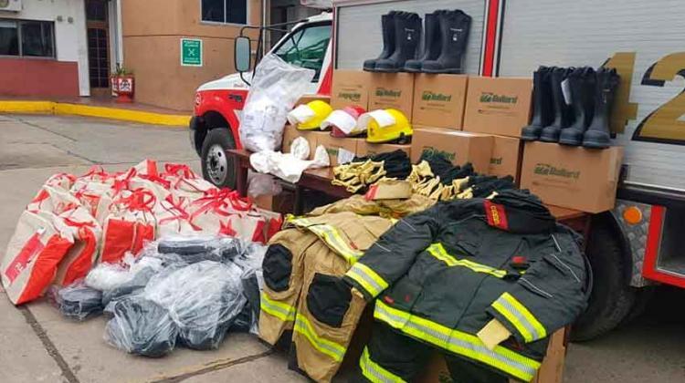 Equipos de Protección para Bomberos de Ensenada
