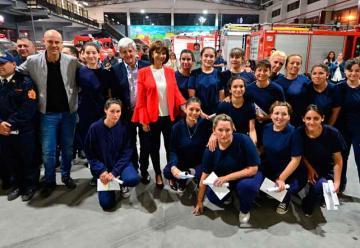 Se incorporaron mujeres a Bomberos Voluntarios de San Fernando