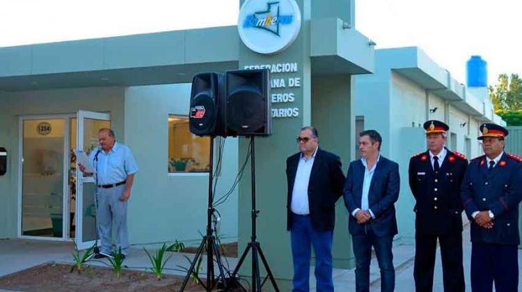 Inauguraron sede de Federación Pampeana