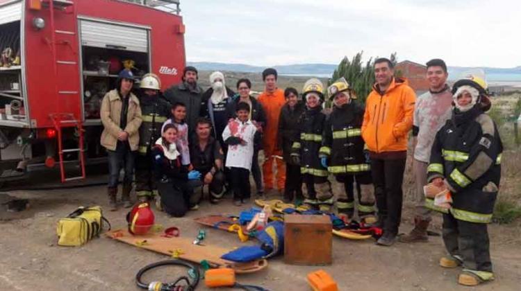 Bomberos Voluntarios se capacitaron en Emergentología